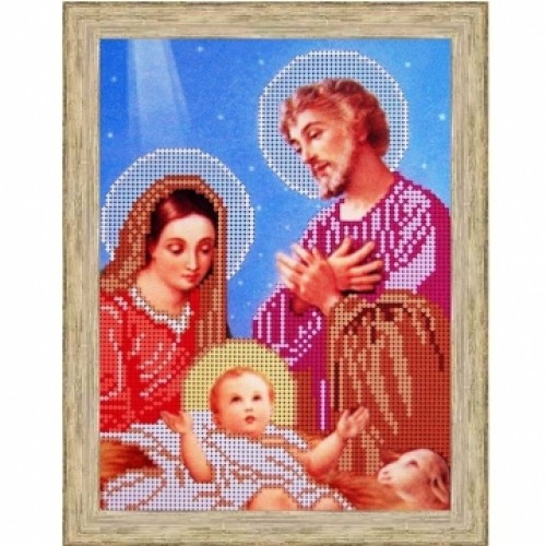 Вышивка бисером, Канва Религия  Святое Семейство из Назарета