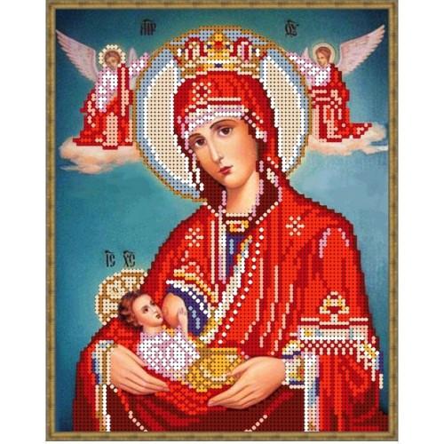Вышивка бисером, Канва Религия Пр.Богородица Млекопитательница