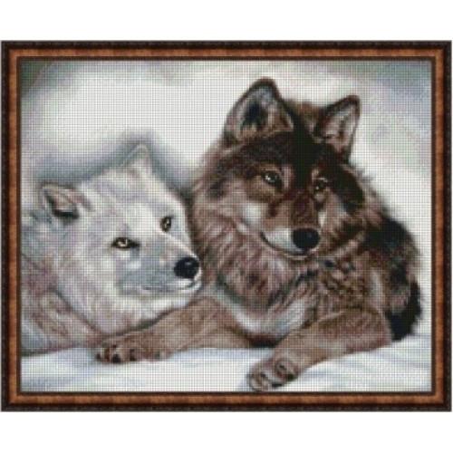 Красиві вовки