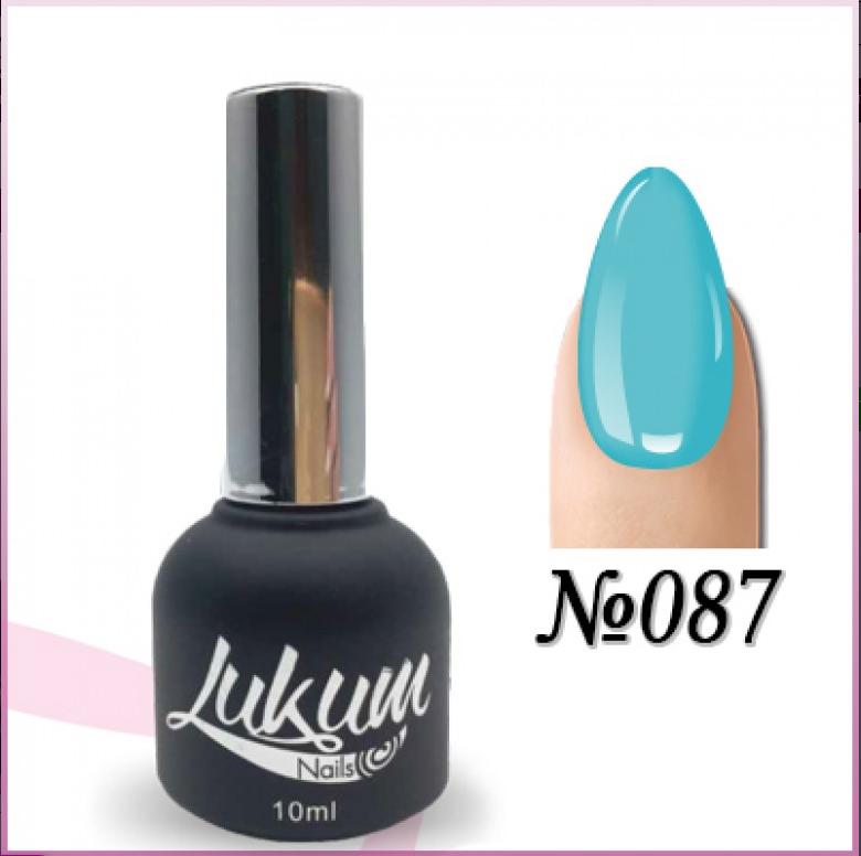 Гель лак Lukum Nails № 087