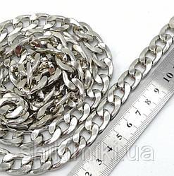 Цепочка для сумки супер крупная Z19-1, цвет никель