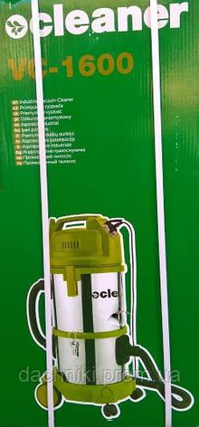 Строительный пылесос Cleaner VC-1600, фото 2
