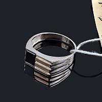 Мужская печатка - серебро и золото 19.5 размер 0178.10