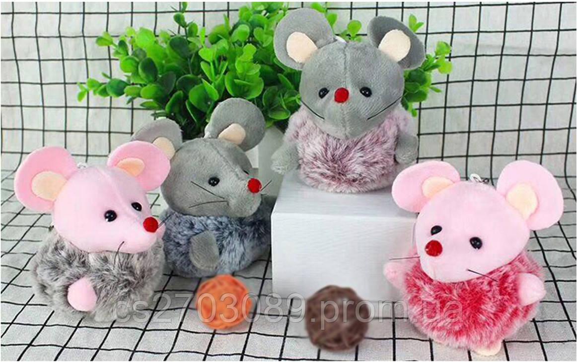 Мягкая игрушка мышка, размер 10 см