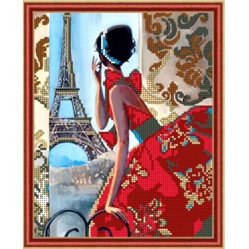 Вышивка бисером, Канва Дамы Парижский гламур