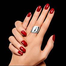 Широкое серебряное кольцо Волна 17 размер Selenit 12044