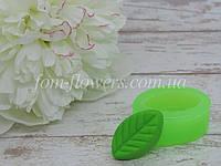 """Силиконовая форма Fom-flowers для создания конфетки """"Листик"""" 1,8х3 см"""