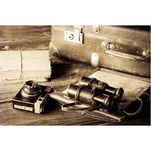 Вышивка рыбалка бисером, Канва натюрморт Набор путешественника