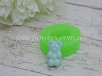 """Силиконовая форма Fom-flowers для создания конфетки """"Мишка"""" 1,1х2,3 см"""