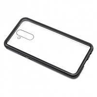 Накладка магнит Bakeey Metal Frame iPhone 7 8 черный (26536)