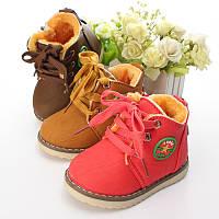 Утепленные детские ботиночки, фото 1