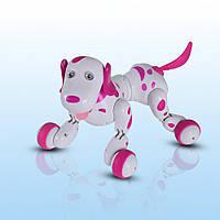 Собака-робот на радиоуправлении HappyCow Smart Dog (розовый) HC-777-338p