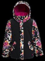 Горнолыжная куртка Burton Elodie (True Black/Secret Garden) 2020