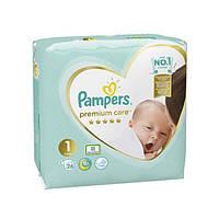 Подгузники для детей Premium Care Newborn ТМ Памперс / Pampers (2-5 кг) №26