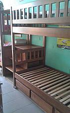 Двухъярусная кровать Владимир с лестницей-комодом, фото 3