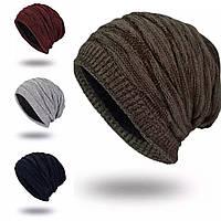 Шапка зимняя теплая: мужская/женская, 4 цвета