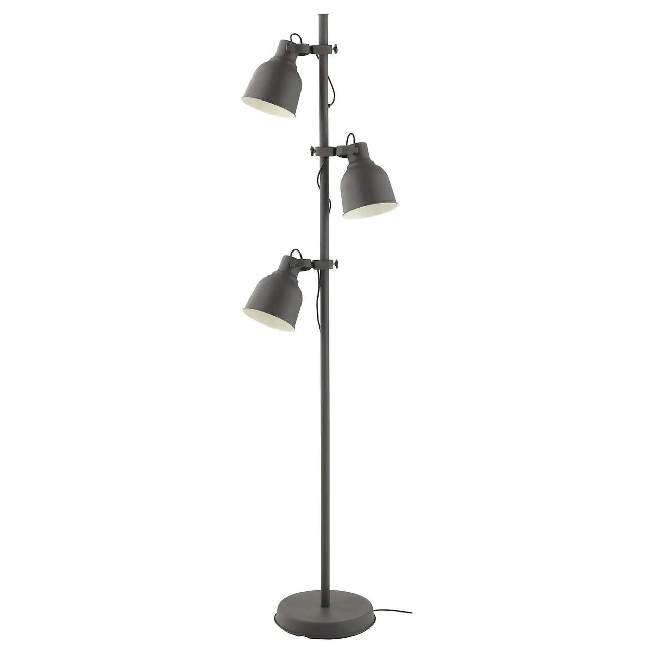 Напольная лампа с 3 прожекторами HEKTAR