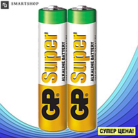Батарейка GP Super Alkaline 24A LR03 AAA 2шт.
