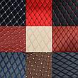 Комплект ковриков из экокожи для Toyota Camry 40, фото 2