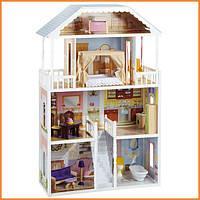 Дом для кукол KidKraft Savannah Саванна кукольный домик с мебелью 65023