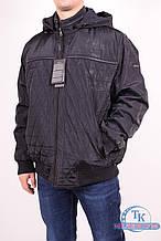 Куртка мужская (цв.т/синий) демисезонная из плащевки WOLVES 877-A Размер:58