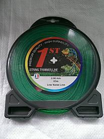 Струна, волосінь косильна ○ 2,0 мм 63 метри крученная Франція