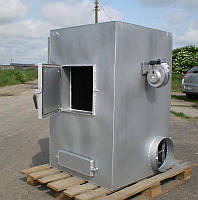 Печь отопительная твердотопливная пиролизного горения УкрПечи 50 кВт