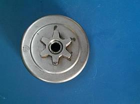 Корзина ,Тарелка,Чашка сцепления цельная 3/8 Oleo-Mac,EFCO GS 350 66/63/8 мм оригинал 50240065 R