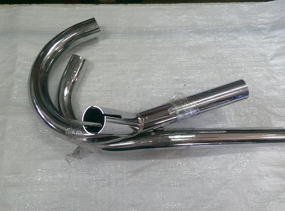 Урал мотоцикл Трубы выхлопные на один глушитель рога