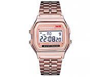 Годинники WR наручні спортивні  Рожевий