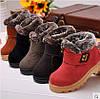 Утепленные детские ботинки