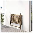 Стол садовый ASKHOLMEN 112x62 см, фото 4