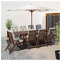 Стол садовый APPLARO 260x78 см