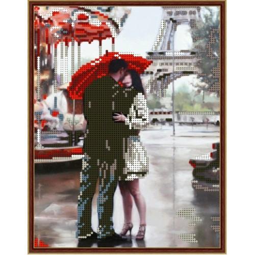 Вышивка бисером, Канва Дамы Наш Париж