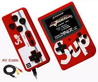 Ретро игровая приставка (Игровая консоль) Game Box sup 400 игр в 1 + джойстик Red #S/O