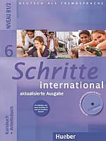 Schritte International 6 Kursbuch + Arbeitsbuch mit Audio-CD zum Arbeitsbuch und interaktiven Übungen