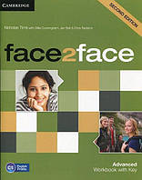 Face2Face Second Editon Advanced Workbook with key