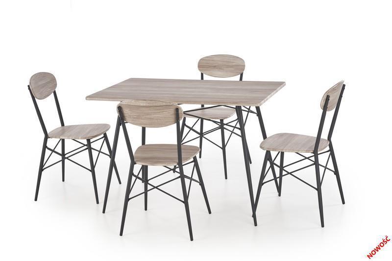 Стол + 4 стула KABIR 110х70 см