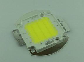 Светодиод матричный PREMIUM СОВ для прожектора SL-30 30W 6500К (45Х45 mil) Код.59716