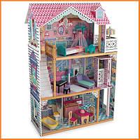 Дом для кукол KidKraft Annabelle Аннабель кукольный домик с мебелью 65079