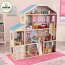 Кукольный дом с мебелью Величественный особняк KidKraft Majestic Mansion 65252, фото 2