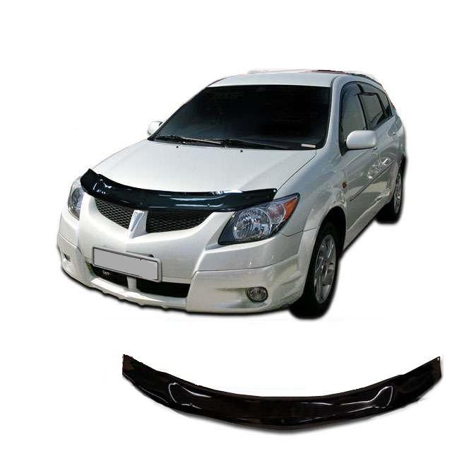 Дефлектор капота  Pontiac Vibe с 2002-2007,  Мухобойка Pontiac Vibe