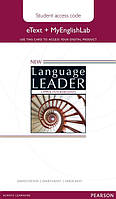 New Language Leader Upper-Intermediate eText Coursebook with MyEnglishLab Pack