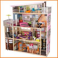 Дом для кукол KidKraft Soho кукольный домик с мебелью 65277
