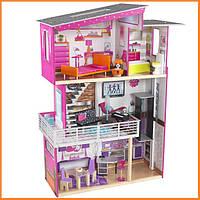 Дом для кукол KidKraft Beverly Hills кукольный домик с мебелью 65871