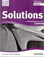 Solutions Intermediate 2 Edition Ukraine. Workbook and Audio CD Pack