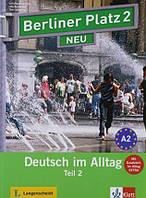 Berliner Platz 2 neu Kursbuch + Arbeitsbuch. Teil 2. A2. Deutsch im Alltag + CD