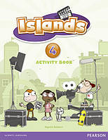 Islands 4 Activity Book with pin code