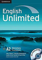 English Unlimited Elementary A2. Coursebook with e-Portfolio DVD-ROM