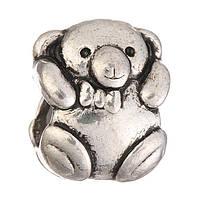 Намистина Pandora ведмедик (Пандора) посріблена P2908016, фото 1